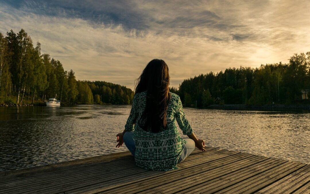 Vodena meditacija vam lahko pomaga